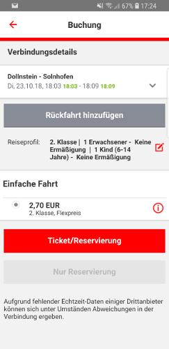 Tickets Mit Db Navigator Buchen Wwwbahninfo Forumde